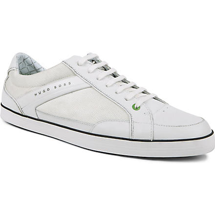 HUGO BOSS Apache 4 tennis trainers (White