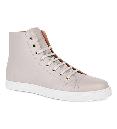 MARC JACOBS Parka high-top trainers (Grey