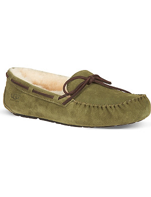 UGG Olsen sheepskin driving shoes