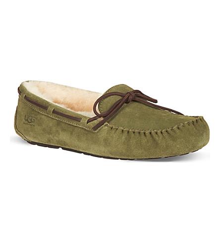UGG Olsen sheepskin driving shoes (Green