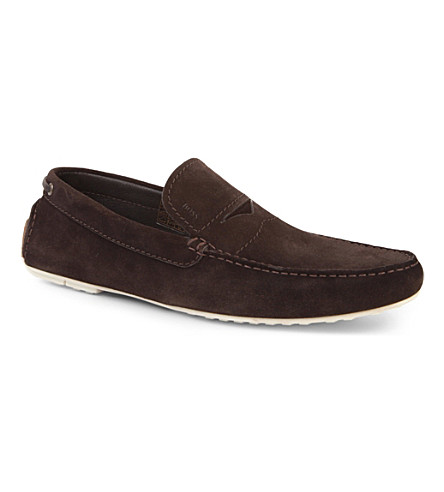 HUGO BOSS Relons driver shoes (Brown