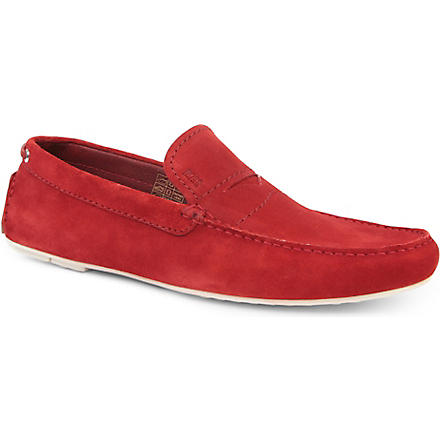 HUGO BOSS Relons driver shoes (Red