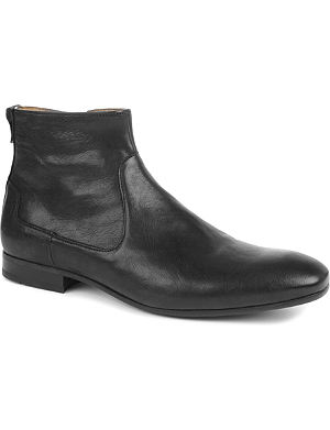 H BY HUDSON Fabien leather boots