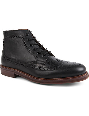H BY HUDSON Hemming brogue boots