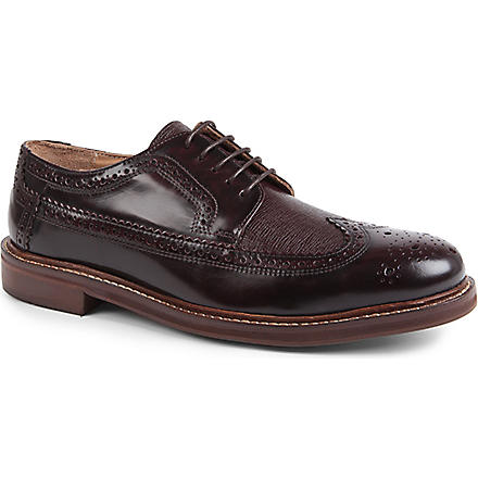 H BY HUDSON Callaghan Derby shoes (Wine