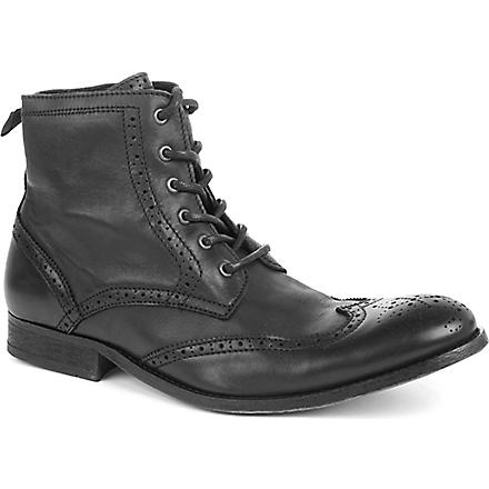 H BY HUDSON Angus boots (Black