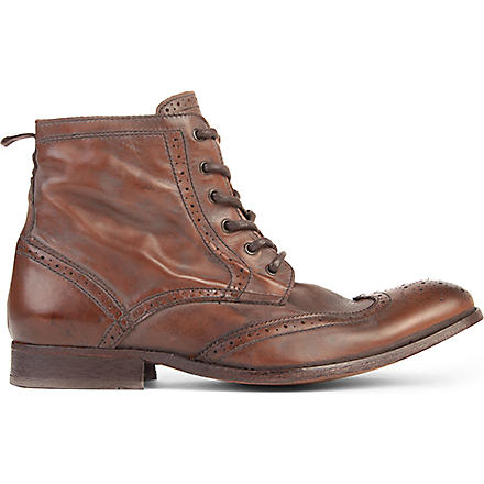H BY HUDSON Angus boots (Tan