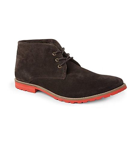 KG KURT GEIGER Caino desert boots (Brown