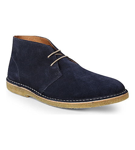 KG KURT GEIGER Burns desert boots (Navy