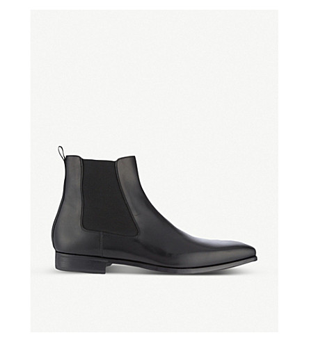 MAGNANNI Leather Chelsea boots (Black