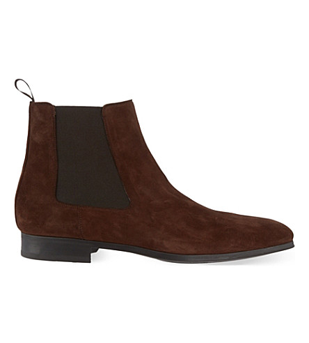 MAGNANNI Suede Chelsea boots (Brown