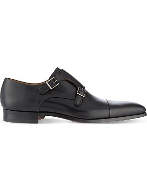 MAGNANNI Double monk shoes