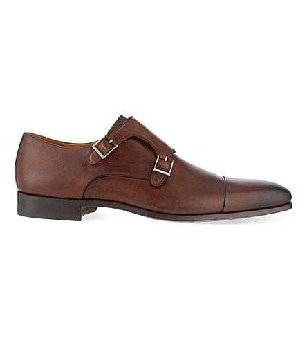 MAGNANNI 双和尚鞋履 (布朗