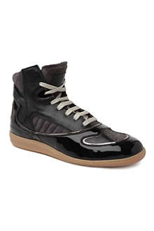 MAISON MARTIN MARGIELA Metallic trim high tops