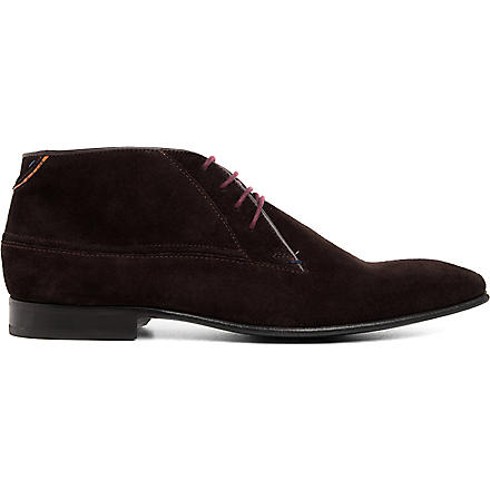 PAUL SMITH Jay chukka boots (Brown