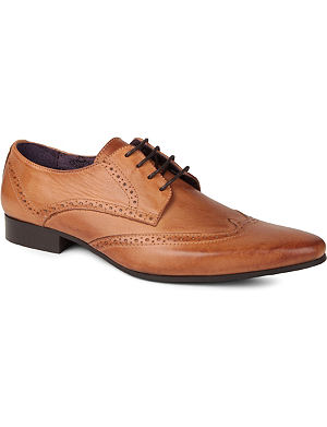 KG KURT GEIGER Jake leather brogue shoes