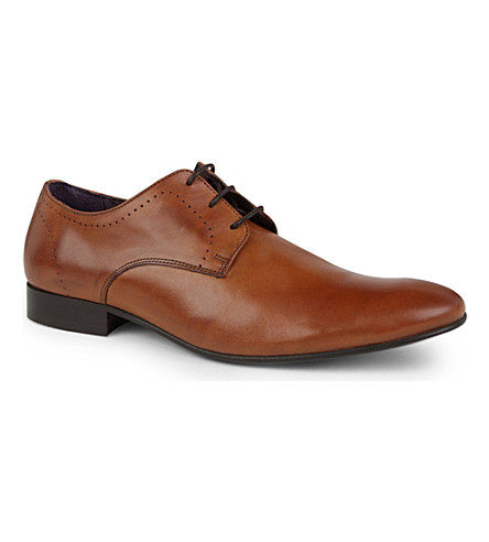 KG KURT GEIGER Joseph Derby shoes (Tan