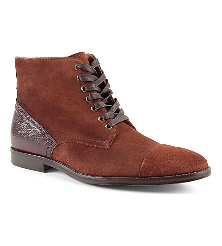 KURT GEIGER Barney ankle boots (Tan