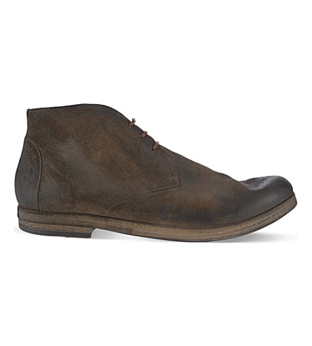 MARSELL Listello chuck boots (Brown