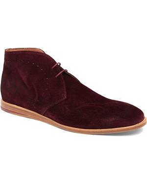 BESPOKEN Doncaster suede desert boots