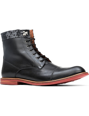 BESPOKEN Richmond contrast-sole boots