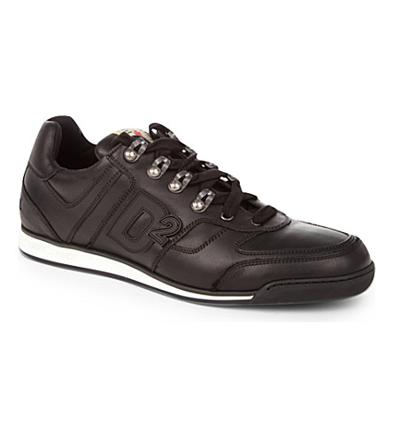 D SQUARED Winner trainers (Black