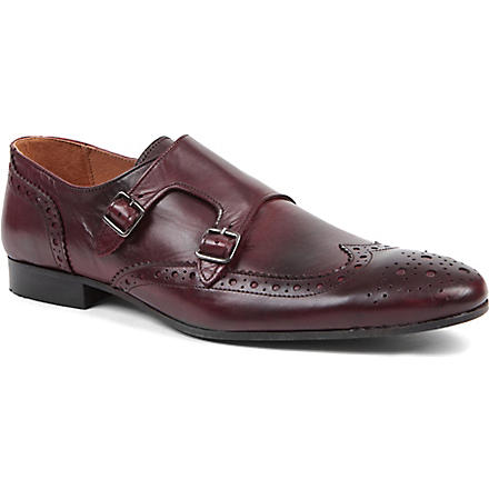 KG BY KURT GEIGER Utah monk strap shoes (Red