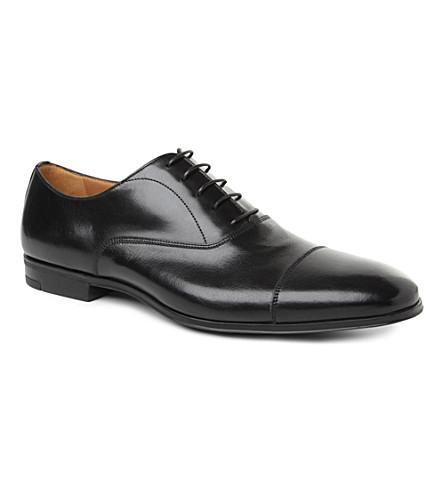 STEMAR Toe-cap Oxford shoes (Black