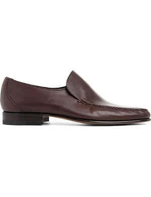 STEMAR Plain softy loafers