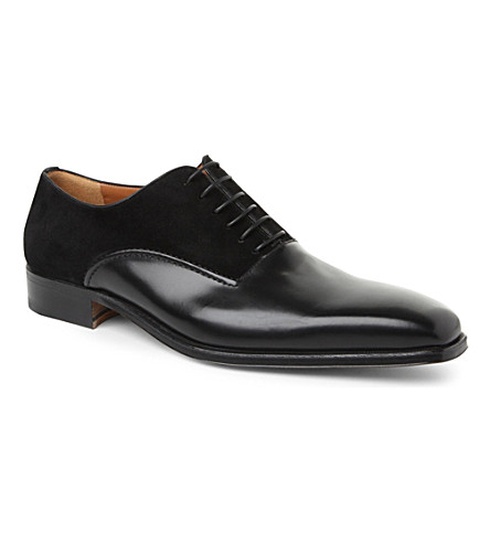 STEMAR New Mix Oxford shoes (Black