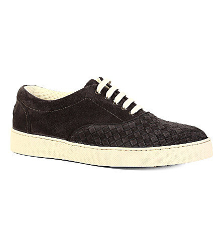 BOTTEGA VENETA Yankee Oxford trainers (Grey