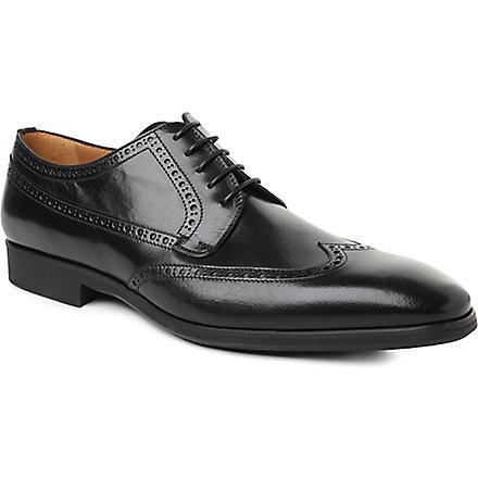 STEMAR Wingcap Derby shoes (Black