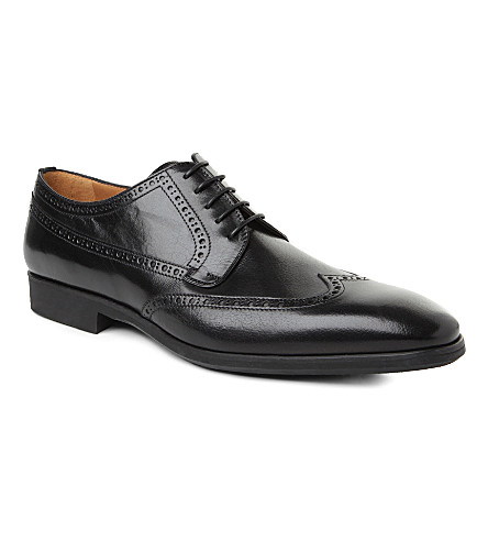 STEMAR Wingcap Derby shoes (Black