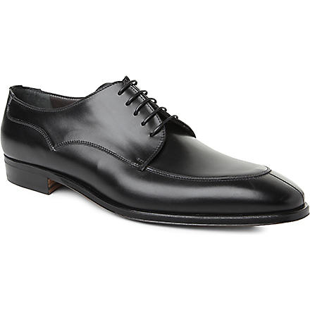 STEMAR Split toe Derby shoes (Black