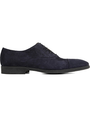 STEMAR Suede Oxford shoes