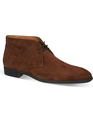 STEMAR Suede chukka boots