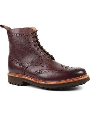 GRENSON Fred commando wingcap boots