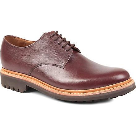 GRENSON Curt commando Derby shoes (Wine
