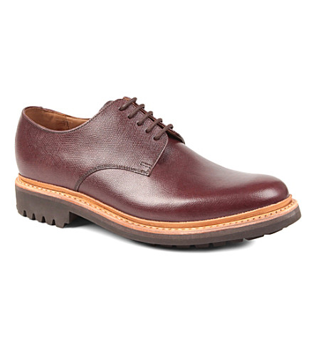 GRENSON Curt commando Derby shoes (Wine