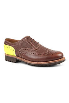 GRENSON Stanley leather brogues