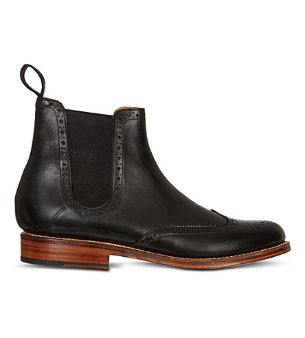 GRENSON Jacob Chelsea boots (Black
