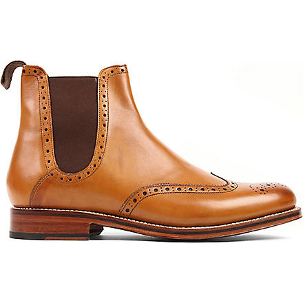 GRENSON Jacob Chelsea boots (Tan