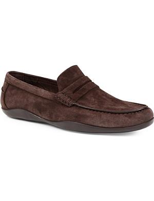 HARRYS OF LONDON Basel suede loafers