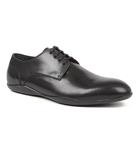 HARRYS LONDON Duncan Derby shoes (Black