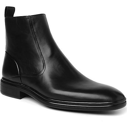 BALLY Newsome zip Chelsea boots (Black
