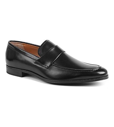 BALLY Leinard apron loafers (Black