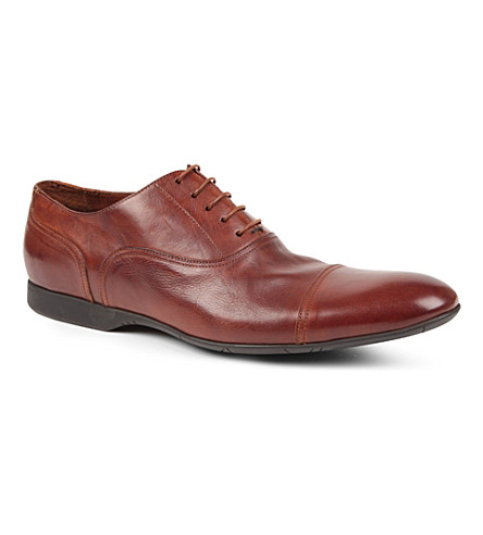 PAUL SMITH Clapton Oxford shoes (Tan