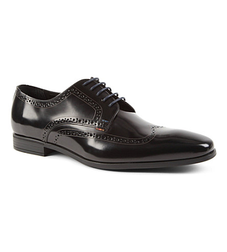 PAUL SMITH Macey Derby shoes (Black