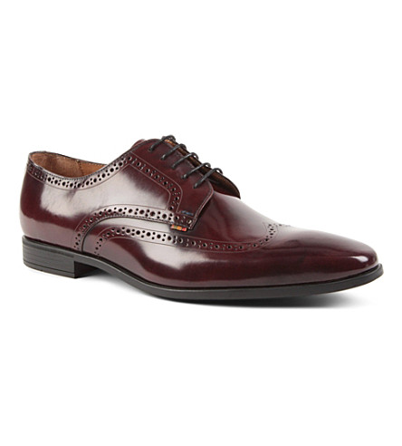PAUL SMITH Macey Derby shoes (Wine