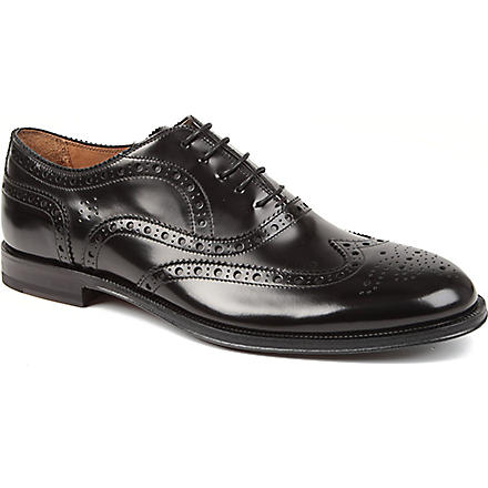 PAUL SMITH Jacob leather brogues (Black